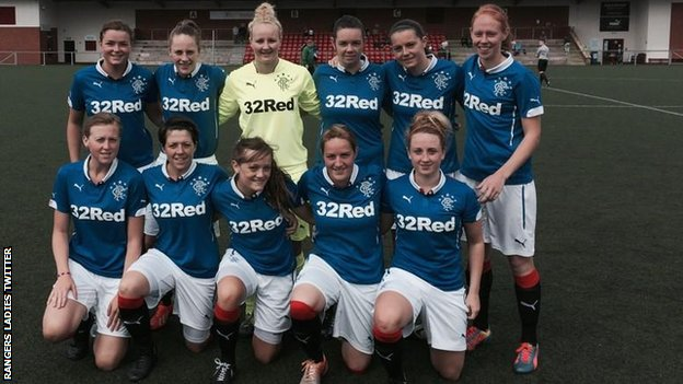 Rangers Ladies team