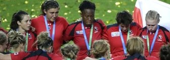 Canada huddle after World Cup defeat
