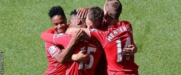 Daniel Sturridge thanked his Liverpool team-mates after scoring the winner against Southampton