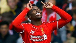 Liverpool forward Daniel Sturridge