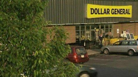 Dollar General store exterior