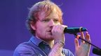 Ed Sheeran at the V Festival
