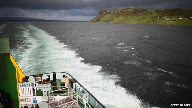 Western Isles ferry