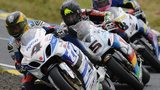 Action from the Ulster Grand Prix