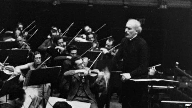 Conductor Arturo Toscanini
