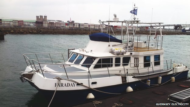 Faraday - vessel to be used for undersea survey between Guernsey and Jersey