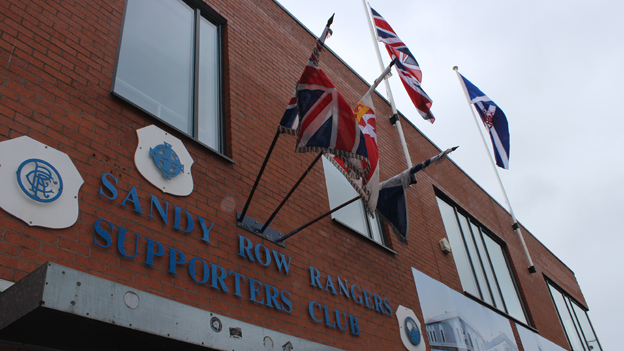 Belfast's Sandy Row Rangers Supporters Club