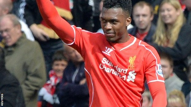 Liverpool forward Daniel Sturridge