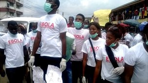 Ebola awareness campaign in eastern Nigeria