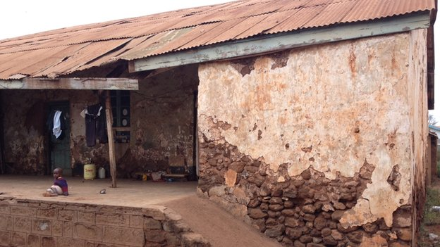 The house in Taveta that used to be a police station 100 years ago (August 2014)