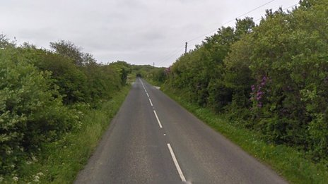 Crash site (Pic: Google)