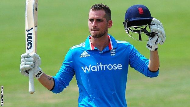 One of only 11 batsmen to have scored a twenty20 international century