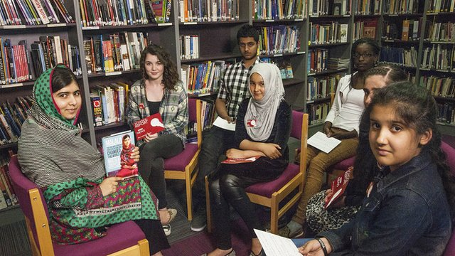 Malala and BBC News School Reporters