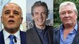 Haider al-Abadi, Peter Capaldi and John Sullivan