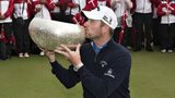 Scotland's Marc Warren seals his win in Denmark with a kiss