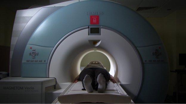 brain scanner