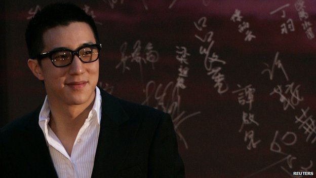 Hong Kong actor Jaycee Chan arrives at the Hong Kong Film Awards in this file photo taken on 19 April, 2009