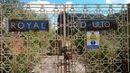 Royal Doulton factory gates