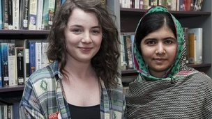 Holly and Malala meet up again