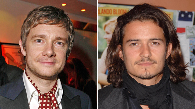 Martin Freeman; Orlando Bloom