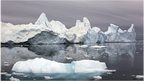 Ilulissat Ice fjord in Greenland