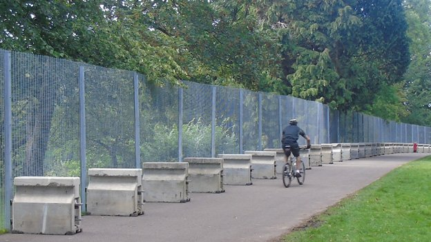 Fencing in Bute Park
