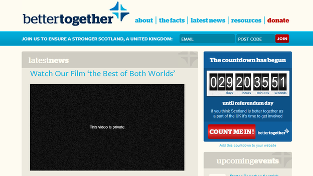 Better Together website video