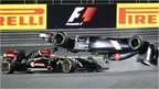 Esteban Gutierrez flips his Sauber