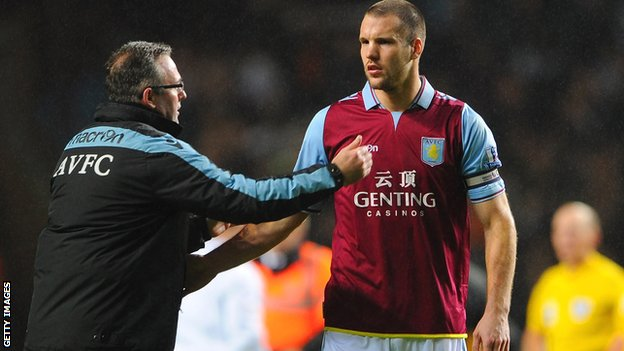 Paul Lambert, Ron Vlaar