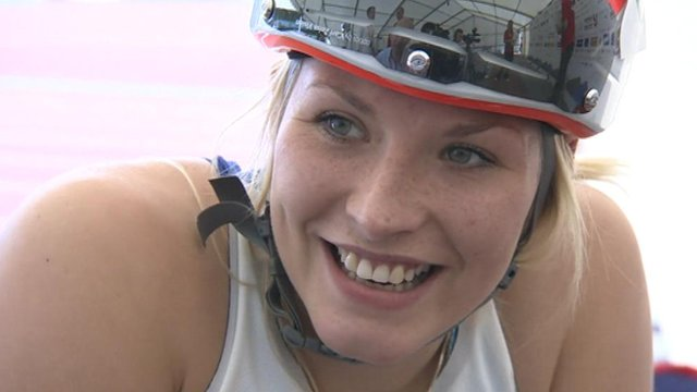 Interview - T53 400m European champion Sammi Kinghorn
