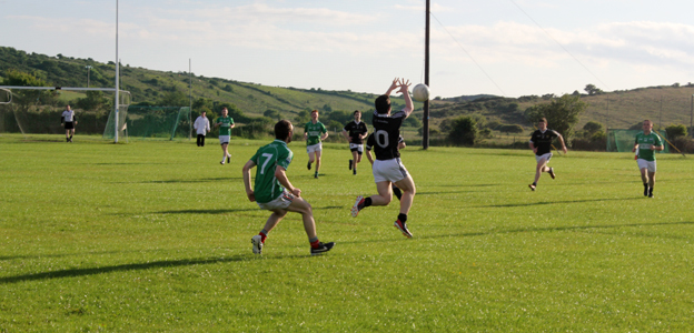 A Gaelic football match