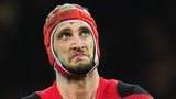 Lock Luke Charteris has won 48 caps for Wales
