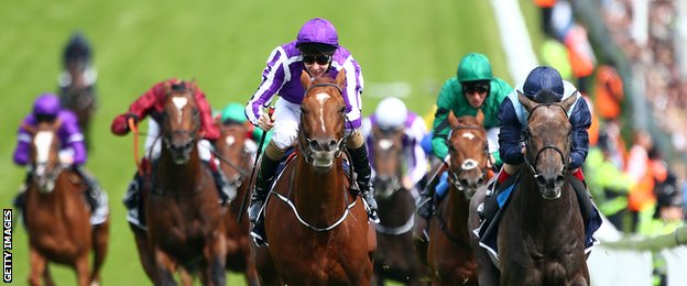 Australia, ridden by Joseph O'Brien, won the Epsom Derby