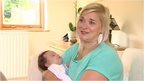 Stephanie Bennett with baby Chloe