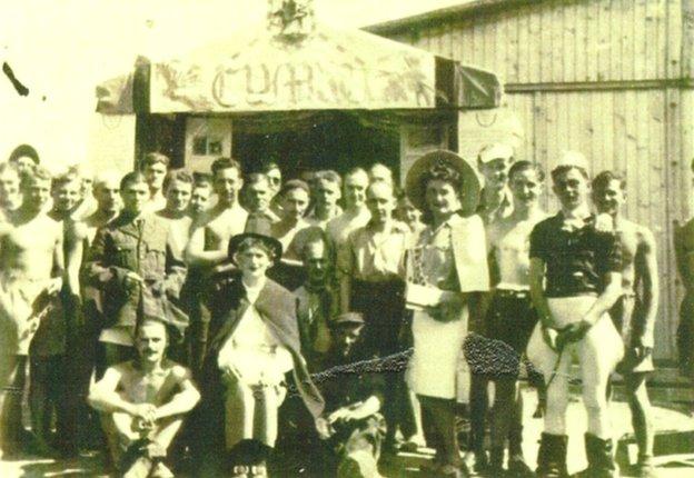 Jockey Club Gala Day at Stalag Luft VI POW Camp, 1943