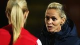 Shelley Kerr won three trophies during her time with Arsenal Ladies