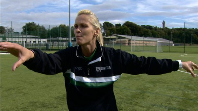 Former Scotland ladies international player Shelley Kerr