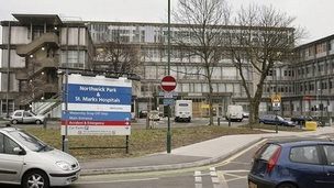 Northwick Park and St Marks hospitals