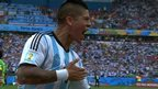 VIDEO: Rojo scores at the 2014 World Cup