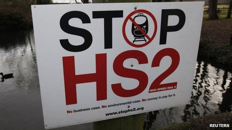 Anti-HS2 sign