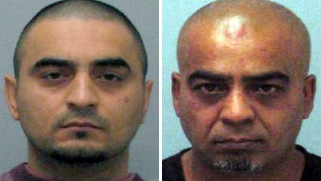 Mohammed Jangir and Mohammed Shabir