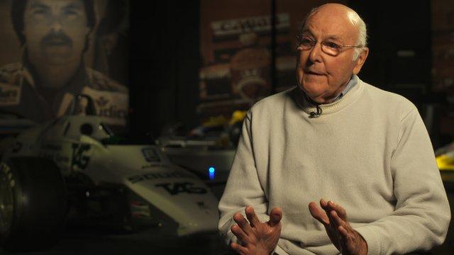 Formula 1 commentary legend Murray Walker