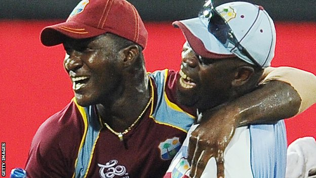 Darren Sammy and Ottis Gibson