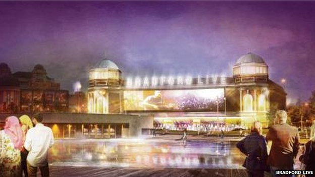 Artist's impression of Odeon project