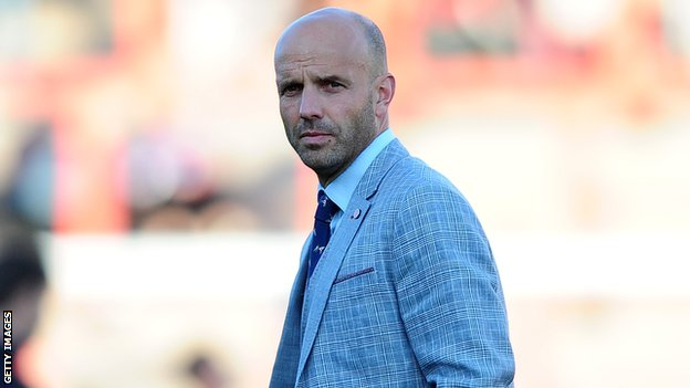 Exeter City manager Paul Tisdale