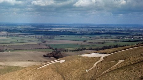The White Horse of Uffington
