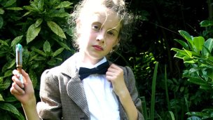 Girl dressed as Doctor