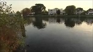 River Thames at Staines