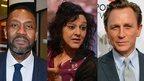 Lenny Henry, Meera Syal and Daniel Craig