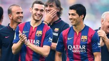Barcelona signed Thomas Vermaelen from Arsenal and Luis Suarez from Liverpool this summer